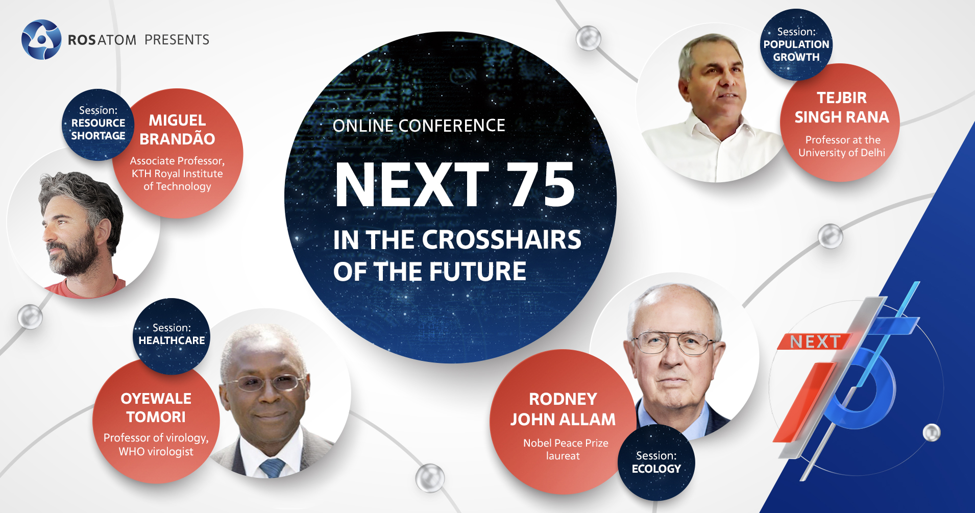 NEXT 75 Conference searches for answers to the challenges of the future