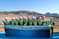 Rosatom pours first concrete at the Akkuyu Nuclear Power Plant in Turkey