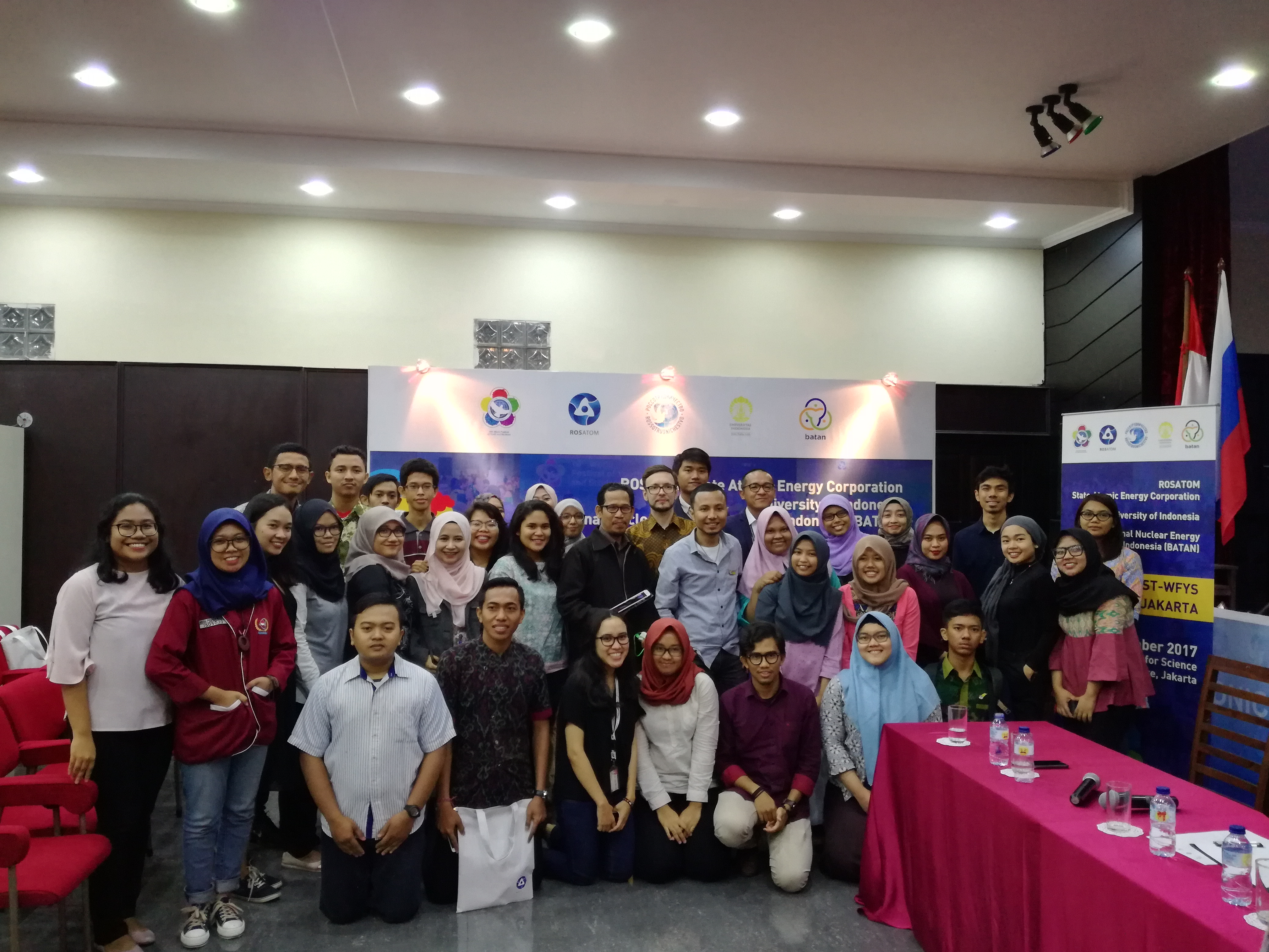 ROSATOM, University of Indonesia and National Nuclear Agency of Indonesia held a Session in Jakarta in the Wake of World Festival of Youth and Students
